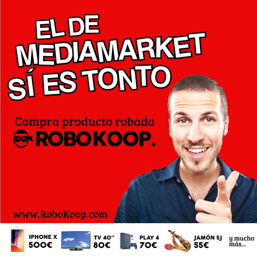 Gráfica para redes de la campaña Robokoop 4