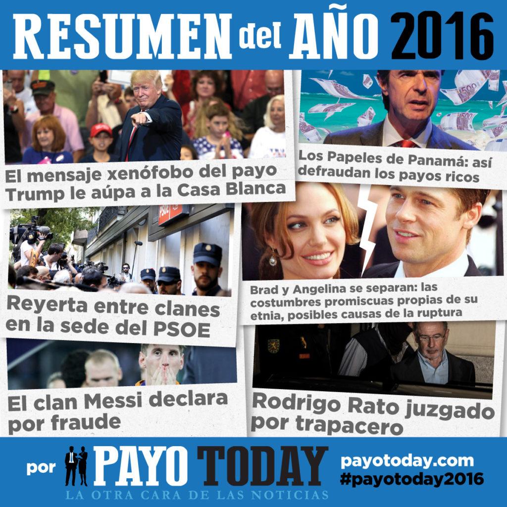 Imagen para redes sociales de la campaña social Payo Today 2016 de la Fundación Secretariado Gitano