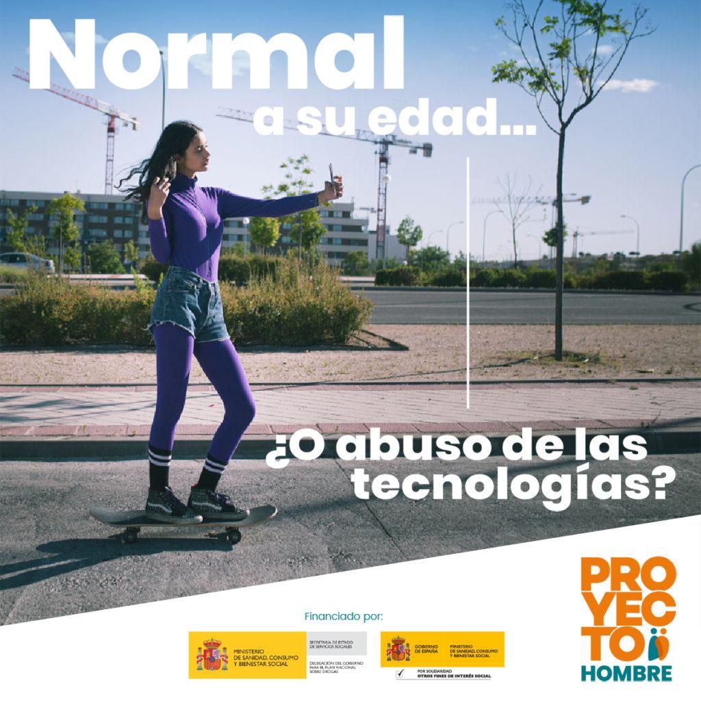 Gráfica cuadrada de la campaña Buenamente de Proyecto Hombre