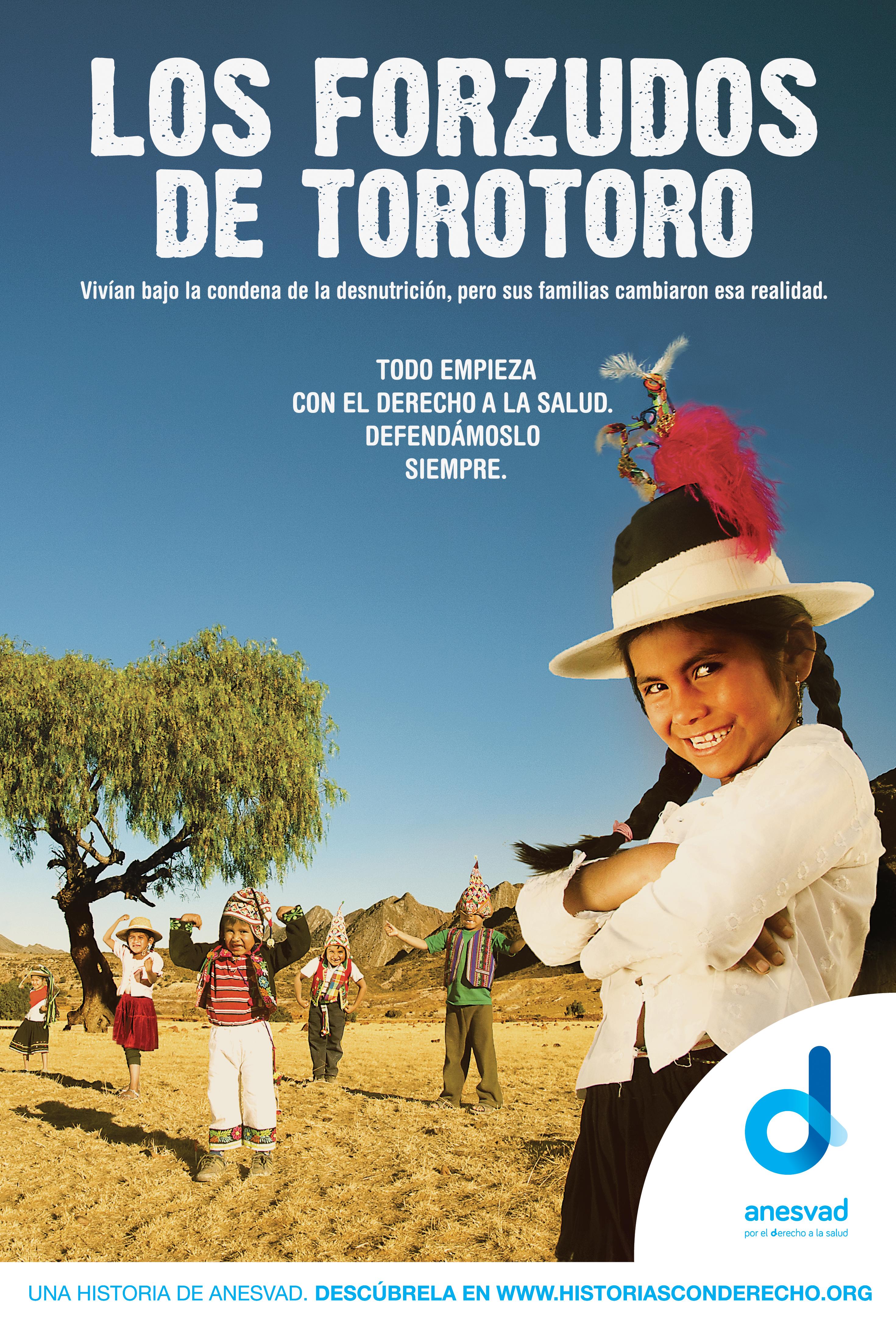 """Gráfica de la campaña """"Derecho a Curar"""" para la ONG Anesvad"""
