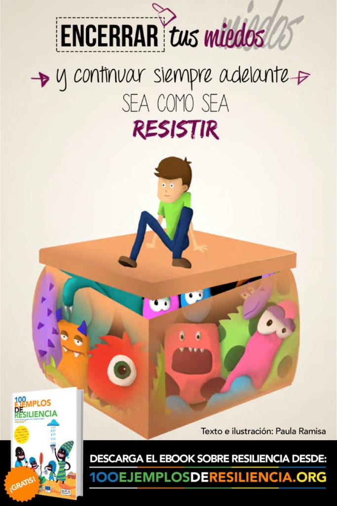Ilustración del libro 100 Ejemplos de Resiliencia de Acción contra el hambre