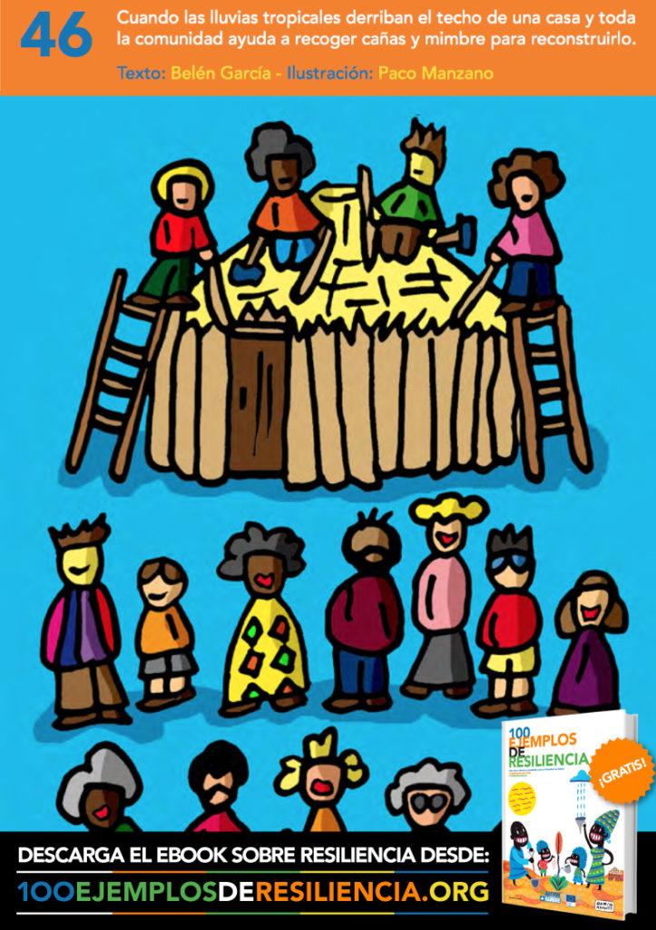 Ilustración 2 del libro 100 Ejemplos de Resiliencia de Acción contra el hambre