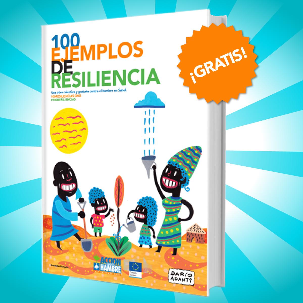 Libro ebook de la campaña 100 Ejemplos de Resiliencia de Acción contra el hambre