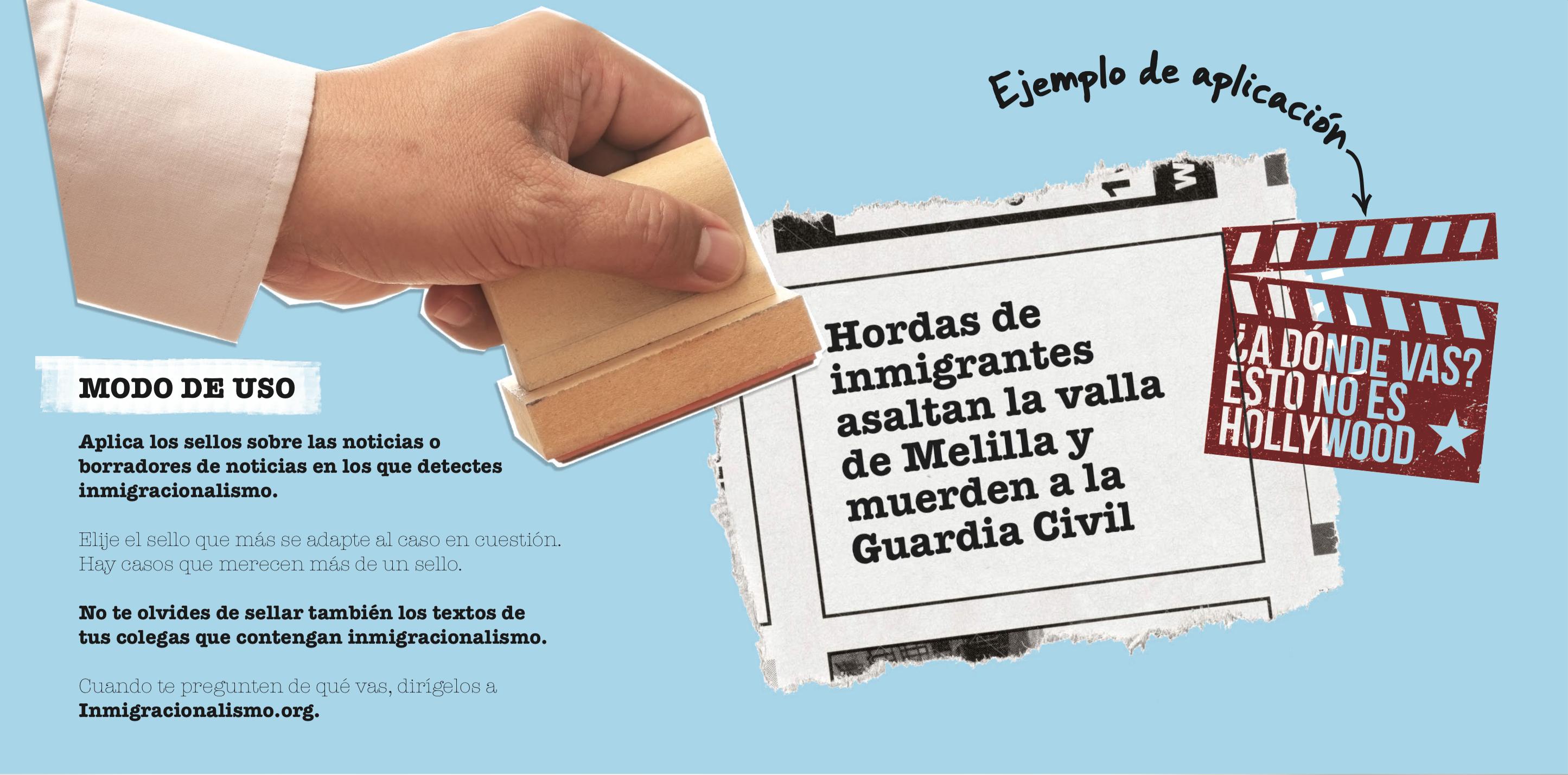 """Envío de marketing directo de la campaña """"Inmigracionalismo"""" para la ONG Red Acoge"""