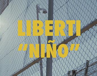 Logo videoclip de la canción Niño del cantante Líberti