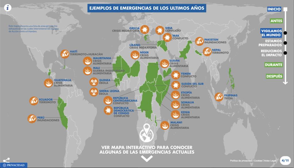 """Imagen 2 extraída del microsite de la campaña """"Detrás de la emergencia"""""""