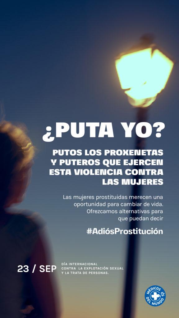 Médicos del mundo adiós prostitución gráfica 3